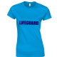BONDI LIFEGUARD RESCUE LADIES FITTED T-SHIRT